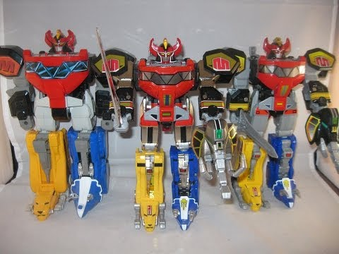 Legacy Megazord Review (Mighty Morphin Power Rangers ...