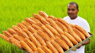నోరూరించే ఆంధ్ర మడతకాజ తయారి | Madatha Kaja Making in Sweet Shop | Traditional Foods