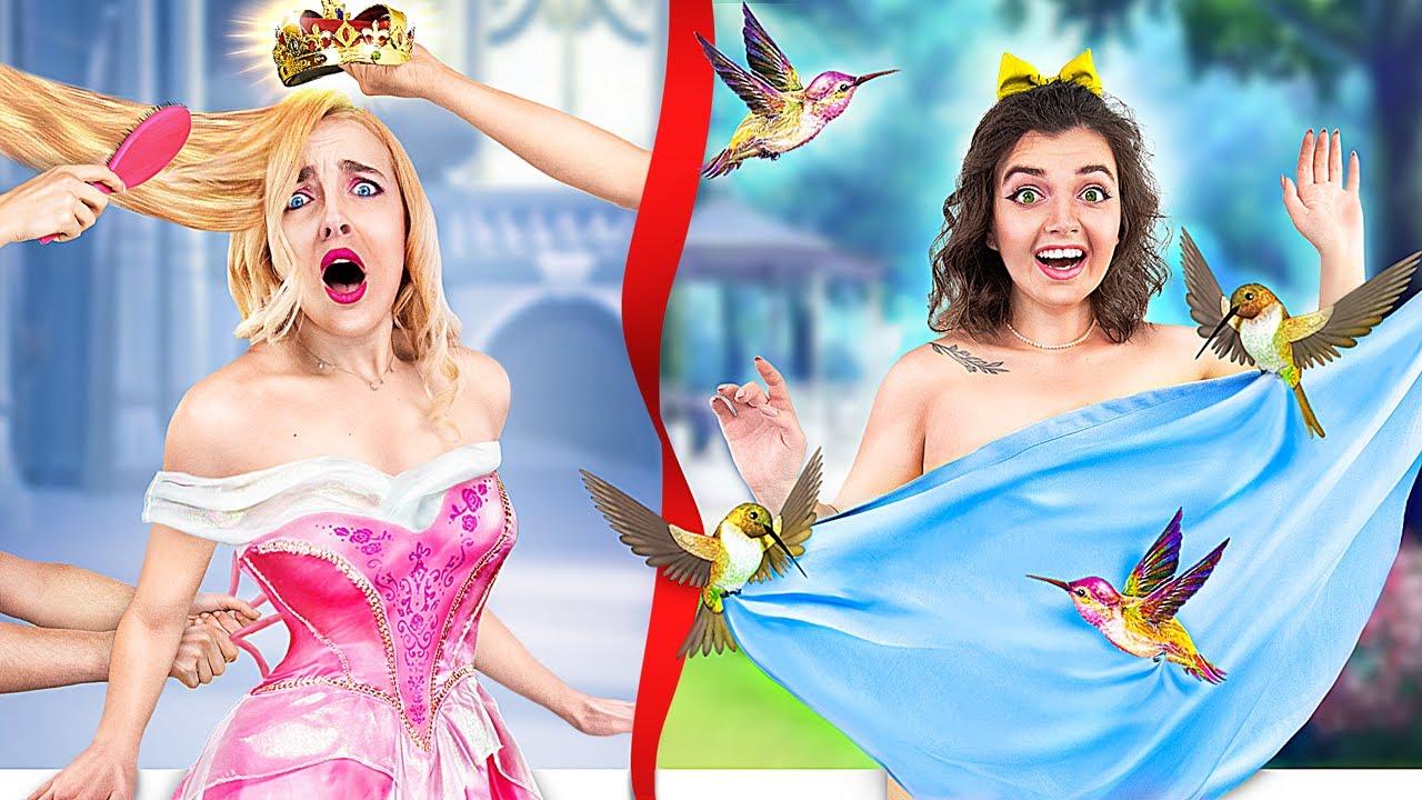 Rich vs Broke / The Story of Princesses!