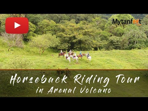 Arenal and La Fortuna Horseback Riding Tour, Costa Rica