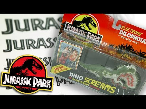 Why were Jurassic Park Toys SO effective?  Universal Style Guide - Logo, Branding, Merchandise