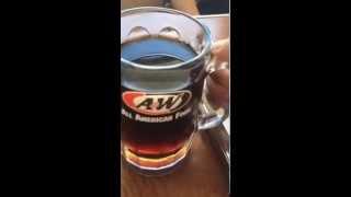 沖縄県糸満市のA&W でルートビア 飲んでみた動画です。