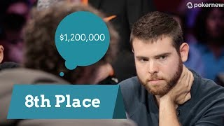 2017 WSOP:  8th Place Finisher Jack Sinclair