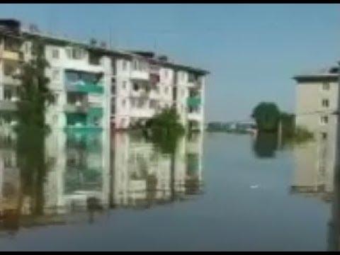 Наводнение Тулун, Иркутская