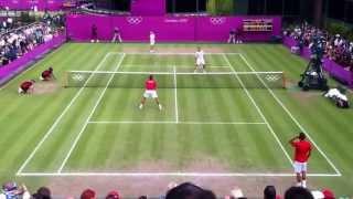 Switzerland vs Israel - Olympic Tennis 2012