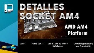 todos los detalles de la plataforma am4 de amd ryzen