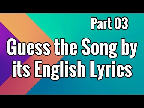 Guess the Song by its English Lyrics | Bollywood | Mid Old Songs Special | #3