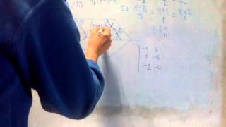 Cómo hallar la recta que corta perpendicularmente a otras dos (1)