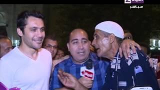 بالفيديو.. معجب لـ«أحمد حسن»: انت حبيبي من السبعينات