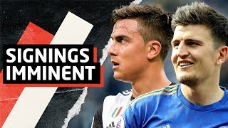 Dybala And Maguire Transfers Imminent   Man Utd News