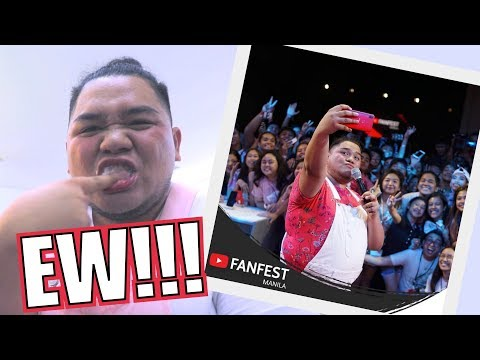 NAG YOUTUBE FANFEST NG WALANG TOOTHBRUSH (LAPTRIP!!) | LC VLOGS #172