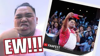 NAG YOUTUBE FANFEST NG WALANG TOOTHBRUSH (LAPTRIP!!) | LC VLOGS #174