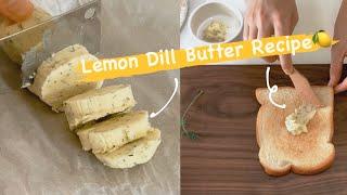 레몬딜버터 만들기|라꽁비에뜨버터 안먹게 되는 Lemon…