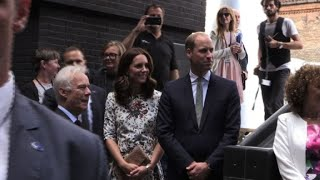 Poland: William and Kate visit Shakespeare