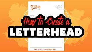 Create a Letterhead in Adobe Illustrator CC Mp3
