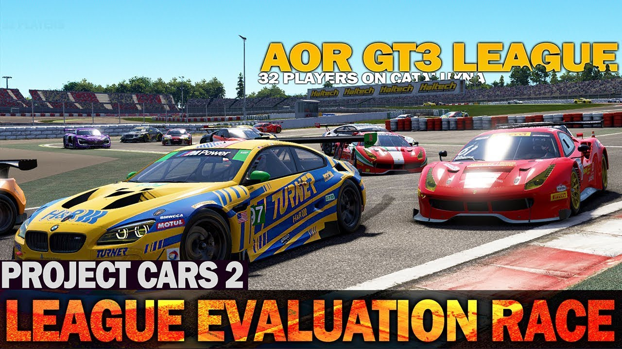 Project Cars 2 - AOR GT3 League Evaluation Race! - YouTube