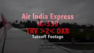 Air India Express IX - 539 Takeoff