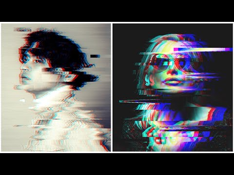 Glitch Effect In Photoshop | 3 Amazing Techniques