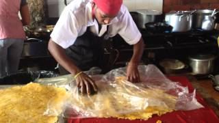 The World's Largest Tostones (fried Green Plantains)