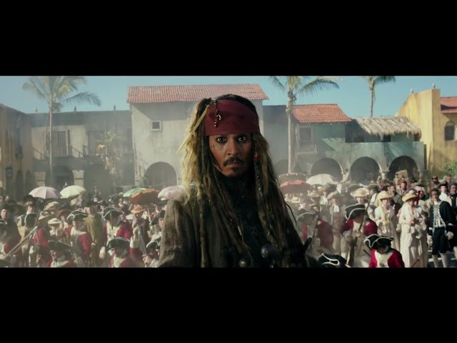 캐리비안의 해적: 죽은 자는 말이 없다 - 2차 공식 예고편 (한글자막)