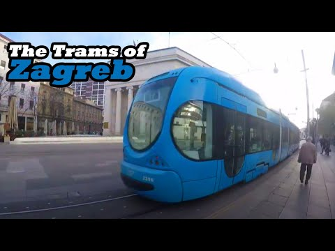 The Trams of Zagreb Croatia