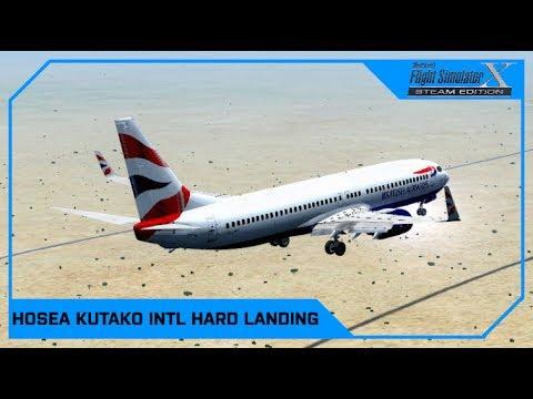 Hosea Kutako INTL HARD Landing