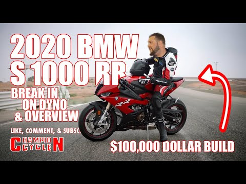 2020 BMW S 1000 RR Break In On Dyno And Overview Of This $100,000 Dollar Race Bike Build