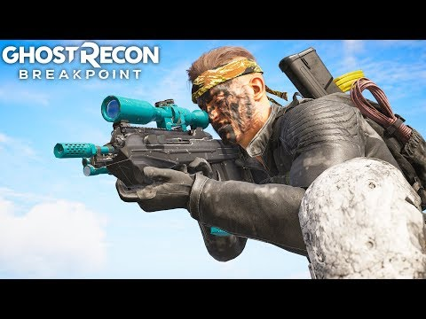 Ghost Recon Breakpoint THE ASSAULT SNIPER! Ghost Recon Breakpoint Free Roam - Part 69