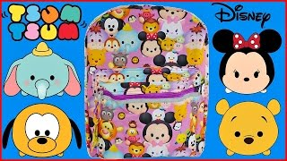 Disney TSUM TSUM SURPRISE BACKPACK Disney Junior Toy Story Sofia the First Mickey Mouse