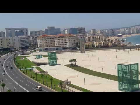 La corniche de Tanger Août 2017