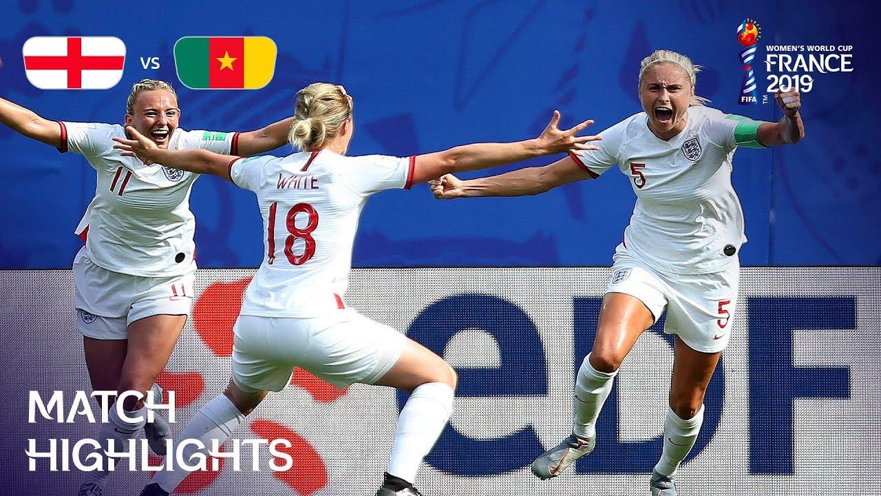 England vs Cameroon