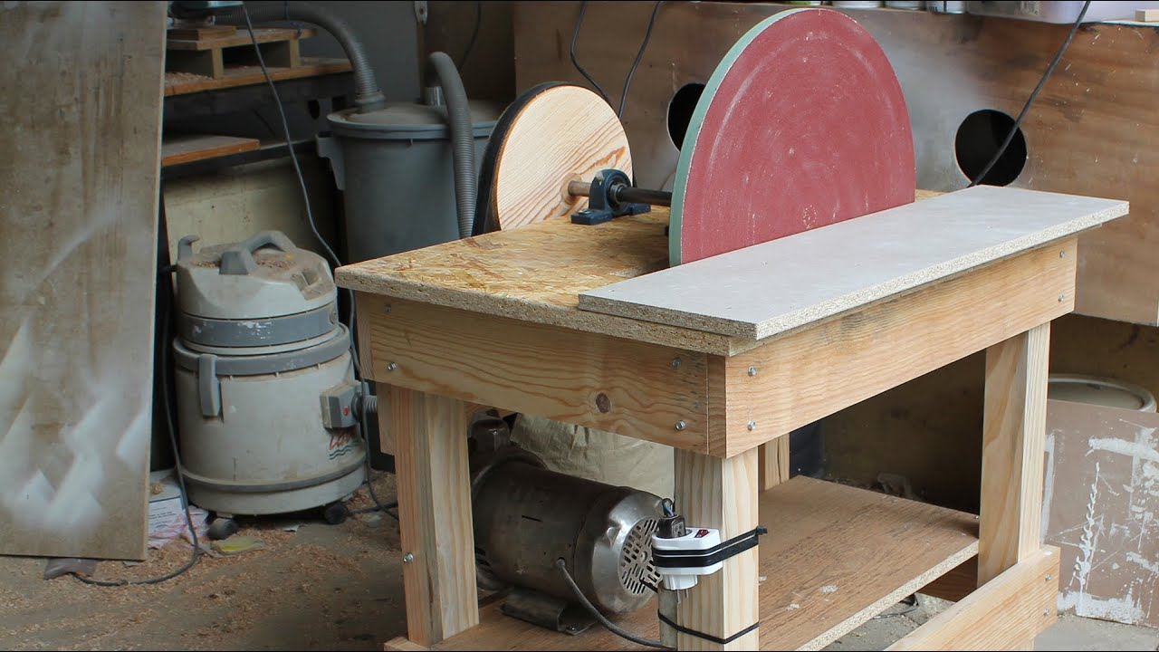 Disk Sander Homemade - 20'' Disc - YouTube on homemade thickness sander plans, homemade drum sander parts kits, homemade pipe sander plans, homemade lathe compound feed, homemade wood sander machine for, homemade edge sander plans, homemade spindle sander plans,