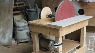 Repeat youtube video Disk Sander Homemade - 20'' Disc