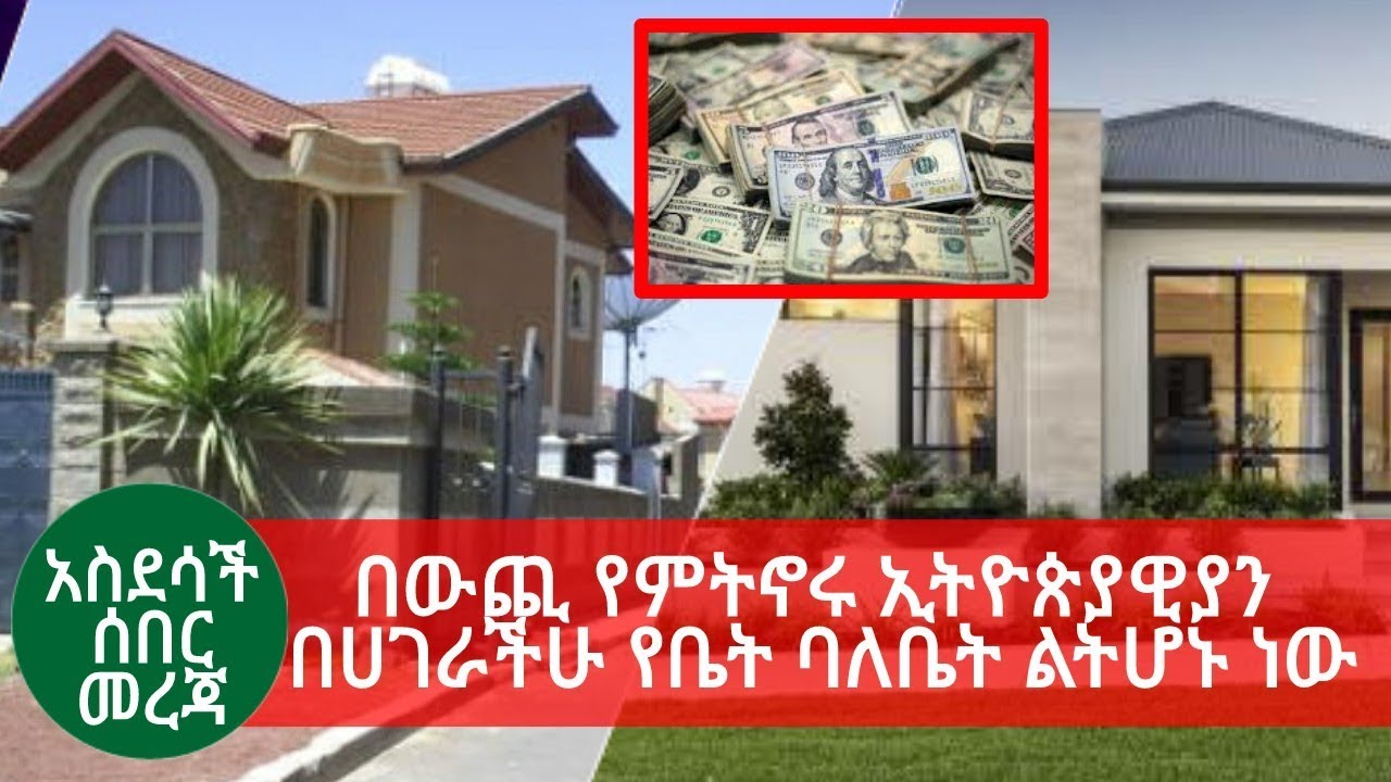 Ethiopian government creates a good opportunity for Ethiopians living abroad