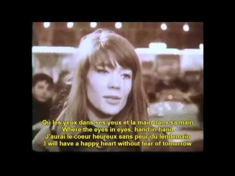 Tous les garcons et les filles: Francoise Hardy French English Lyrics