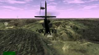 Apache Longbow in the Comanche 3 Demo