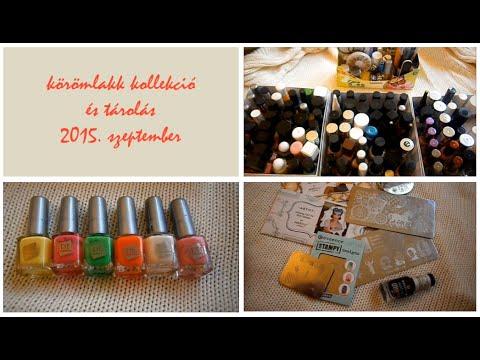 Körömlakk kollekció és tárolás 2015. szeptember