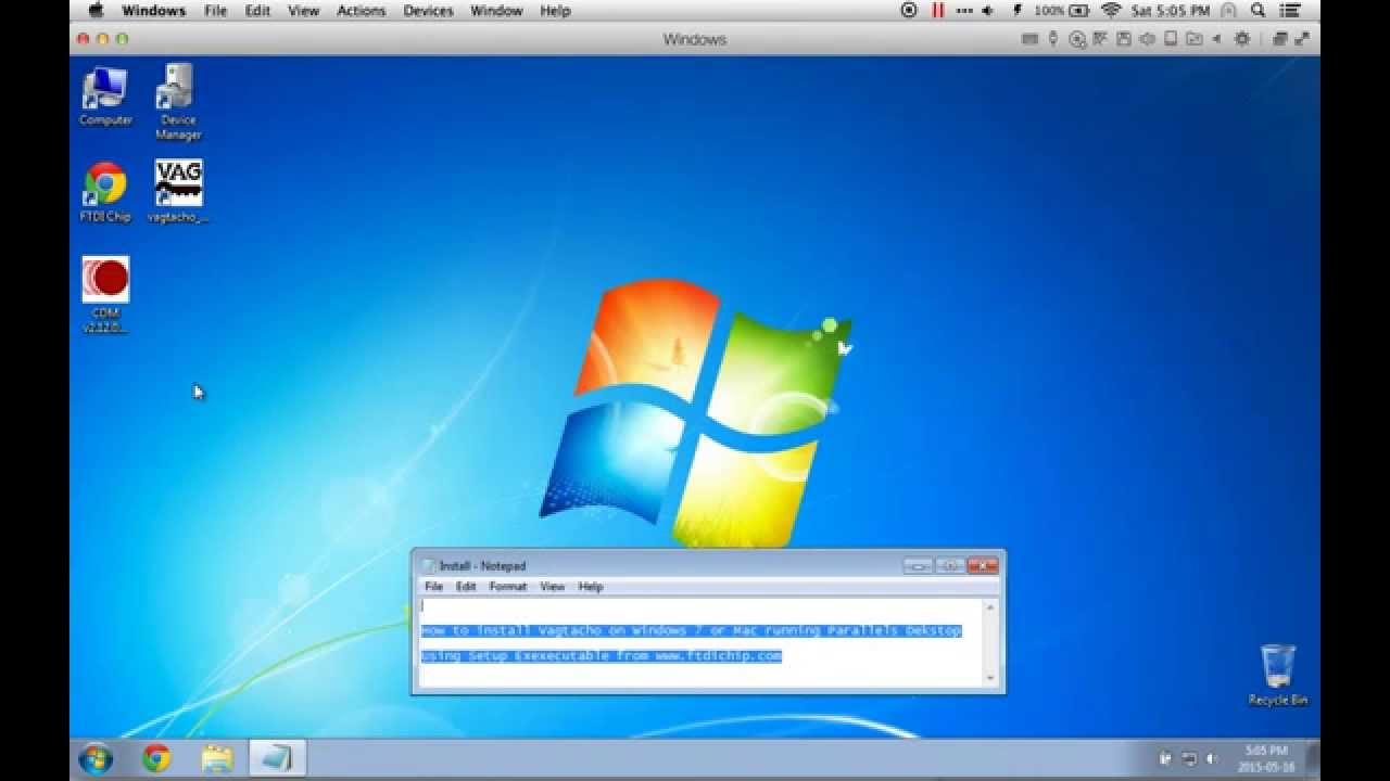 How to Install Vagtacho Drivers on Windows 7 or Mac