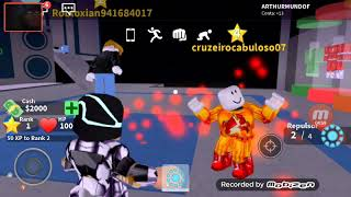 I saved the world in Roblox