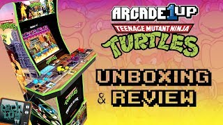 Teenage Mutant Ninja Turtles | Part 1 | Arcade1Up | Unboxing and Review
