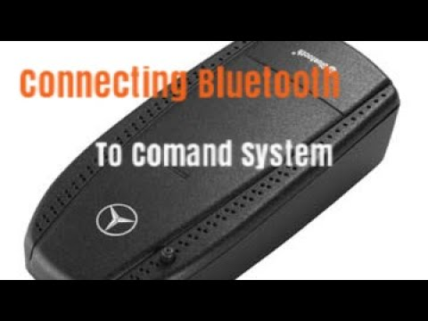 Mercedes Bluetooth connecting with Comand System W211 W219