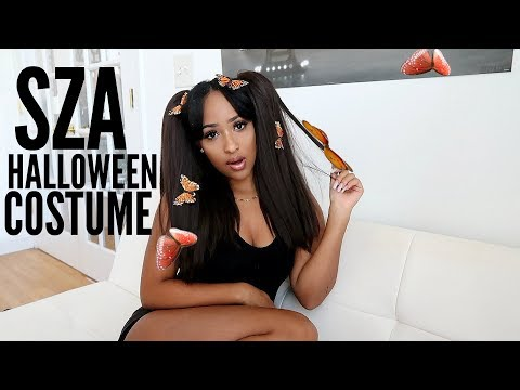 SZA HALLOWEEN GRWM (She liked my pic on Instagram!)