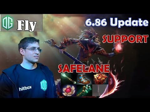 Fly - Dazzle Safelane Pro Gameplay | SUPPORT | Dota 2 MMR