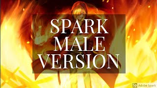 Gambar cover TAEYEON - Spark (MALE VERSION)