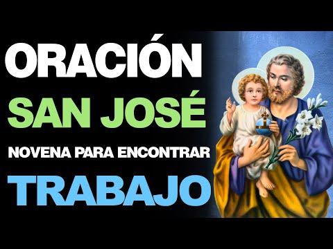 🙏 Novena Milagrosa a San José PARA ENCONTRAR TRABAJO ¡Urgente! 💼