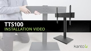 TTS100 Tabletop TV Stand | Kanto Mounts