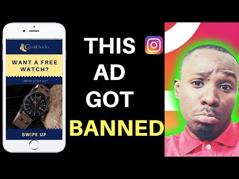 My Shopify Instagram Story Ad Got BANNED! Here's Why!