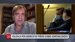 """Luciano Cruz-Coke: """"Los proyectos inadmisibles le hacen daño a la democracia"""""""