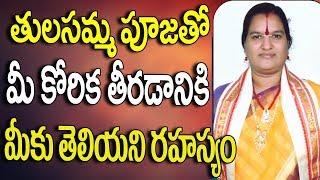 Tulasi Pooja Vidhanam In Telugu | Tulasi Pooja Ela Cheyali | Tulasi Chettu Pooja Ela Cheyali