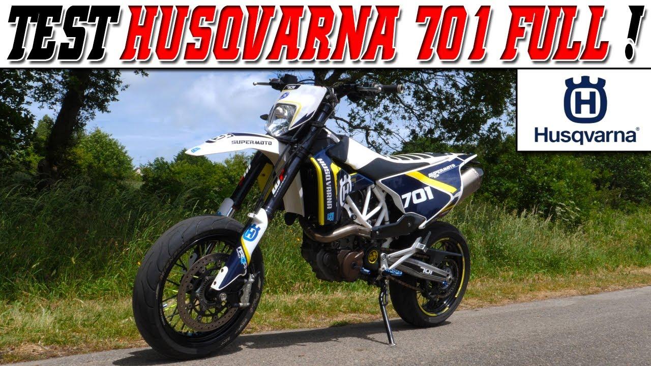 TEST n°207 : HUSQVARNA 701 FULL 66.6 ch / Une moto de DINGUE ! 😍